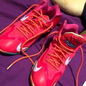 """Nike Shoes - Nike Lebron 11 """" fruity pebbles """""""